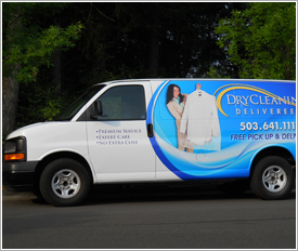 dry cleaning pickup and delivery service